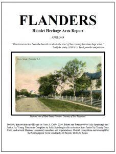 Flanders Heritage Area Report